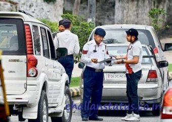 Hyderabad traffic challan