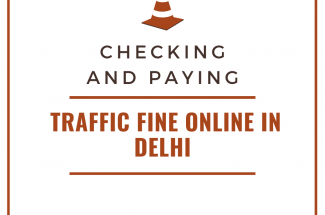 Thumbnail for the post titled: Checking and Paying Traffic Fine online in Delhi