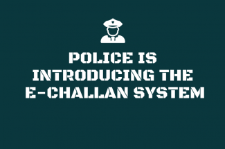 Police is Introducing the E-Challan System