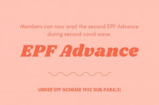 Thumbnail for the post titled: EPF MEMBERS ALLOWED TO AVAIL SECOND COVID-19 ADVANCE