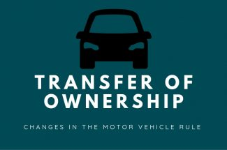 Thumbnail for the post titled: TRANSFER OF VEHICLE OWNERSHIP IS NOW EASIER
