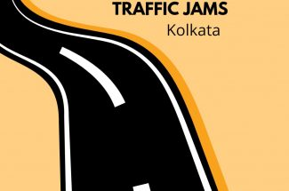 Thumbnail for the post titled: POTHOLE RIDDLED ROADS LEAD TO TRAFFIC JAMS IN KOLKATA