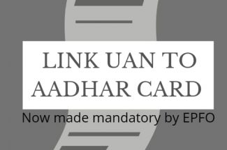 Thumbnail for the post titled: EMPLOYEES NEED TO LINK UAN TO THEIR AADHAR CARDS