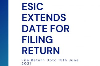 Thumbnail for the post titled: ESIC EXTENDS DEADLINE FOR FILING RETURNS BY A MONTH