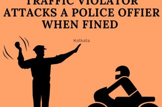 Thumbnail for the post titled: TRAFFIC VIOLATOR ATTACKS POLICE AFTER BEING FINED