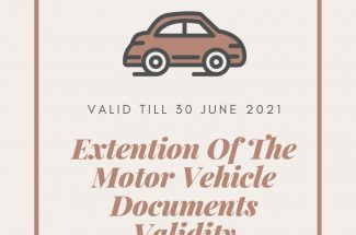 Thumbnail for the post titled: VALIDITY OF THE MOTOR VEHICLE DOCUMENTS EXTENDED TILL   30 JUNE 2021
