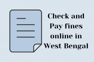 Thumbnail for the post titled: CHECK AND PAY FINES ONLINE IN WEST BENGAL