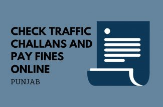 Thumbnail for the post titled: CHECK TRAFFIC CHALLAN AND PAY FINE ONLINE IN PUNJAB