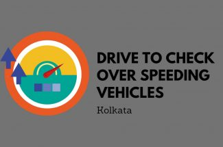 Thumbnail for the post titled: DRIVE IN KOLKATA TO CHECK THE OVER-SPEEDING VEHICLES