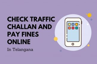 Thumbnail for the post titled: CHECK TRAFFIC CHALLAN AND PAY FINE ONLINE IN TELANGANA