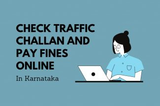 Thumbnail for the post titled: CHECK TRAFFIC CHALLAN AND PAY FINE ONLINE IN KARNATAKA