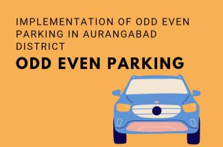 Thumbnail for the post titled: IMPLEMENTATION OF ODD-EVEN PARKING IN AURANGABAD DISTRICT