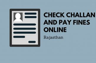 Thumbnail for the post titled: CHECK CHALLAN AND PAY FINE ONLINE IN RAJASTHAN