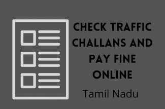 Thumbnail for the post titled: CHECK TRAFFIC CHALLAN AND PAY FINE ONLINE IN TAMIL NADU