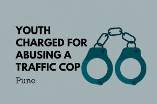 Thumbnail for the post titled: YOUTH IN PUNE CHARGED FOR ABUSING A TRAFFIC COP