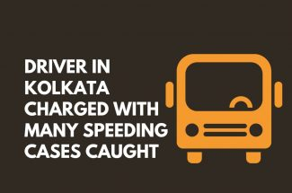 Thumbnail for the post titled: DRIVER IN KOLKATA CHARGED WITH MANY SPEEDING CASES CAUGHT