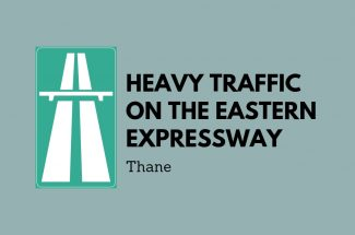 Thumbnail for the post titled: HEAVY TRAFFIC ON EASTERN EXPRESS HIGHWAY IN THANE