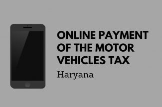 Thumbnail for the post titled: ONLINE PAYMENT OF THE MOTOR VEHICLES TAX IN HARYANA