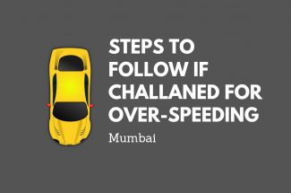 Thumbnail for the post titled: STEPS TO FOLLOW IF CHALLANED FOR OVER-SPEEDING IN MUMBAI