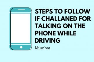 Thumbnail for the post titled: STEPS TO FOLLOW IF CHALLANED FOR TALKING ON THE PHONE WHILE DRIVING IN MUMBAI
