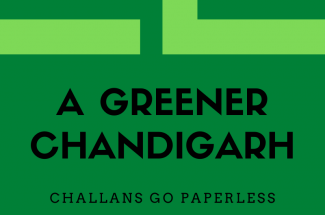 Thumbnail for the post titled: Chandigarh Goes Green On Challan