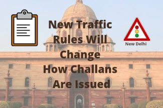 Thumbnail for the post titled: New traffic rules in Delhi will change how challans are issued